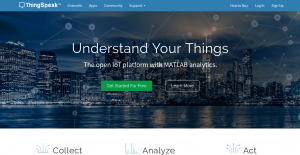 ThingSpeak Homepage