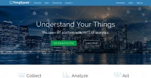 ThingSpeak Homepage